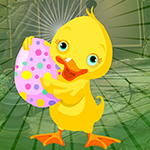 Games4King Duck Escape With Colorful Egg