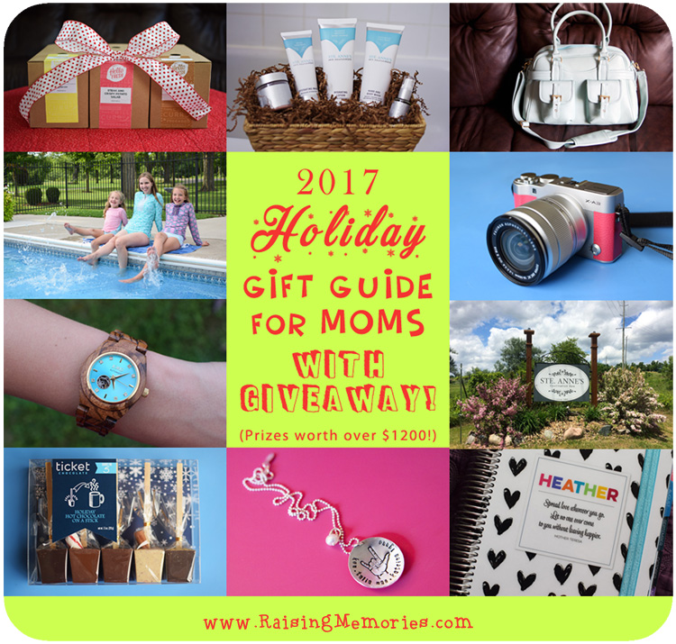 2017 Holiday Gift Guide Giveaway for Moms