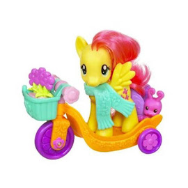 My Little Pony Riding Along Fluttershy Brushable Pony