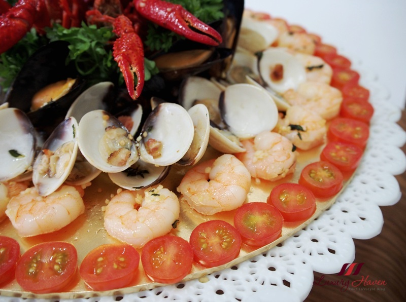 creative food presentation seafood platter recipe