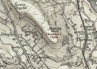 Map showing Chetham's Close