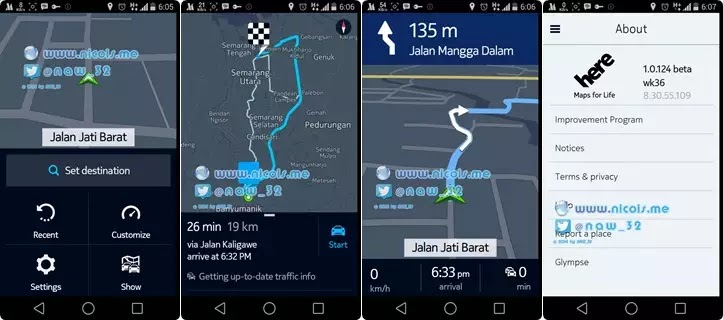 Nokia Here Maps for Android Versi 1.0.124 (beta)