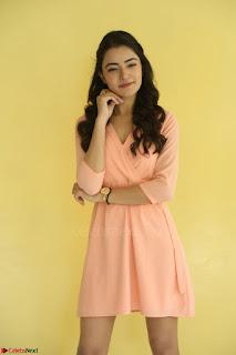Rukshar Mir in a Peachy Deep Neck Short Dress 116.JPG