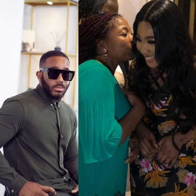 Versace wedding loading – Fans react as Kiddwaya's mother gives her blessing to Erica and Kidd's relationship, pecks Erica on her cheek (Video)