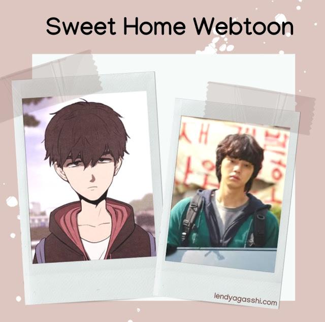 Review Sweet Home Webtoon