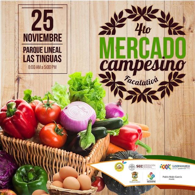 Cuarto mercado campesino en Facatativá