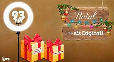 Cadastrar Promoção 93 FM Natal 2020 Kit Digital - Palavra Chave