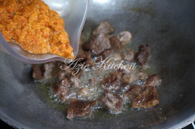 Sambal Daging Hitam Juadah Raya Yang Sangat Sedap