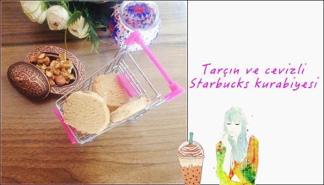 Tarçın ve cevizli Starbucks kurabiyesi