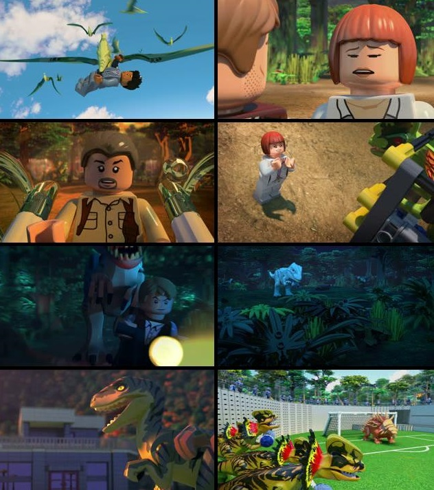 Lego Jurassic World 2016 Dual Audio Hindi 720p Free Download