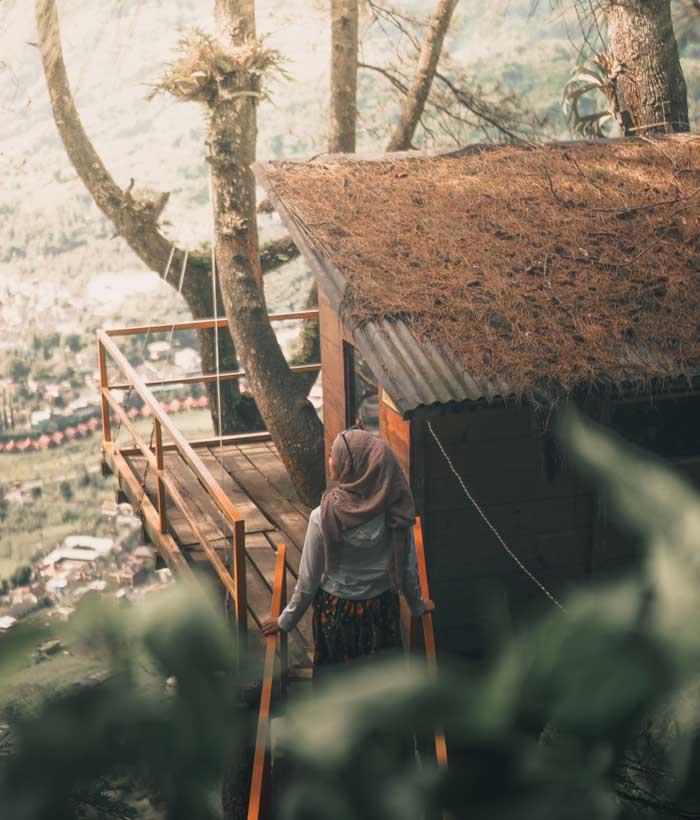 Wisata Omah Kayu Kota Batu