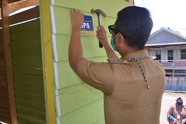 Bupati ASA Serahkan Bantuan Rumah Program BSPS