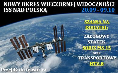 Widoczność ISS (wrzesień - październik 2019) oraz statków Sojuz MS-15 i HTV-8