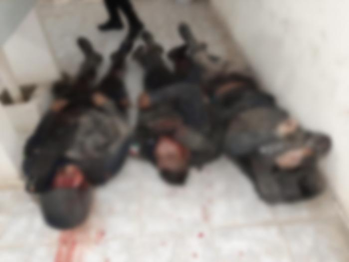 Fotos; Pobladores de San Vicente Coatlán fueron los que emboscaron y mataron a 5 Policías en Oaxaca