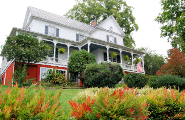Stay with us when you visit the Harvester Performance Center - Claiborne House Bed and Breakfast in Rocky Mount Virginia