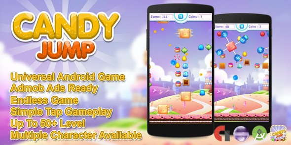 CANDY JUMP ANDROID SOURCE CODE NULLED - CODESTER