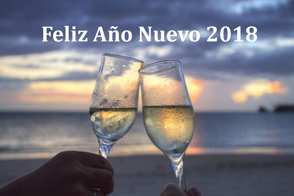 Tarjetas De Ano Nuevo 2018