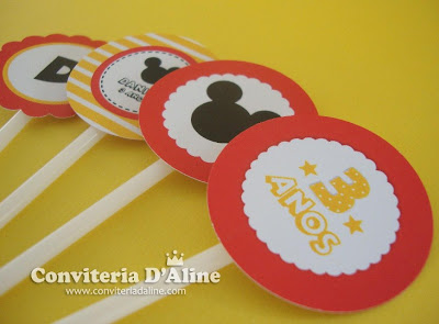 toppers festa mickey