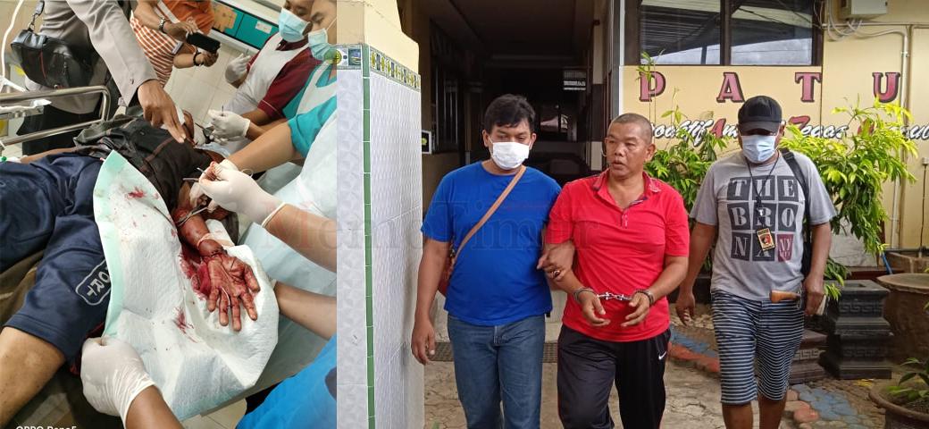 Korban Pembacokan dirawat di RSUD dr. Soebandi, Pelakunya Mendekam di Rutan Polres Lumajang