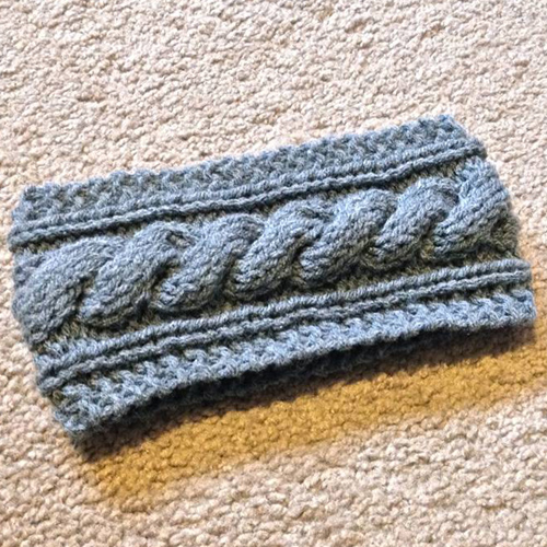 Cable Knit Headband - Free Pattern