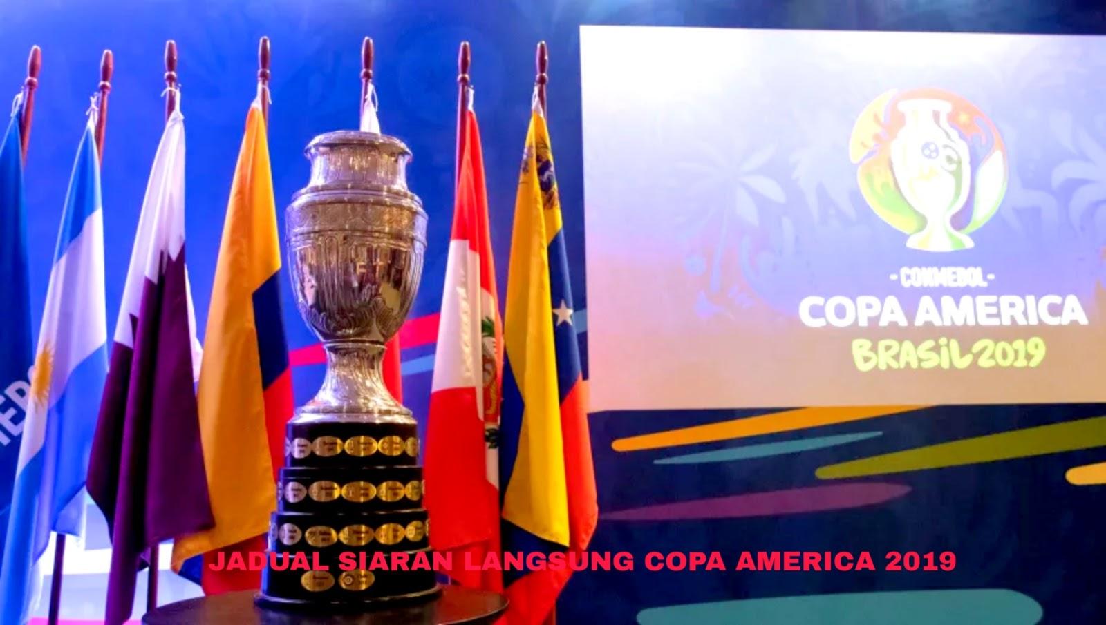 Jadual Siaran Langsung Copa America 2019 (Waktu Malaysia)