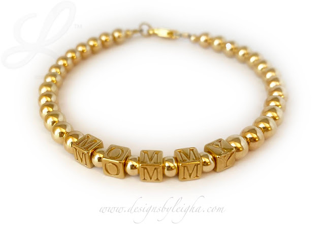 Mommy Gold Bracelets