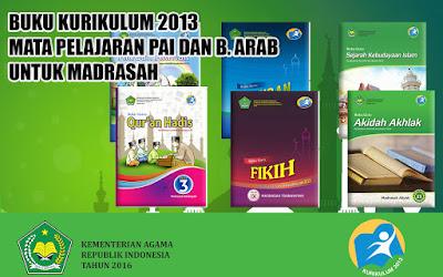 Kumpulan Buku Mata Pelajaran PAI dan Bahasa Arab Kelas VII, VIII, IX