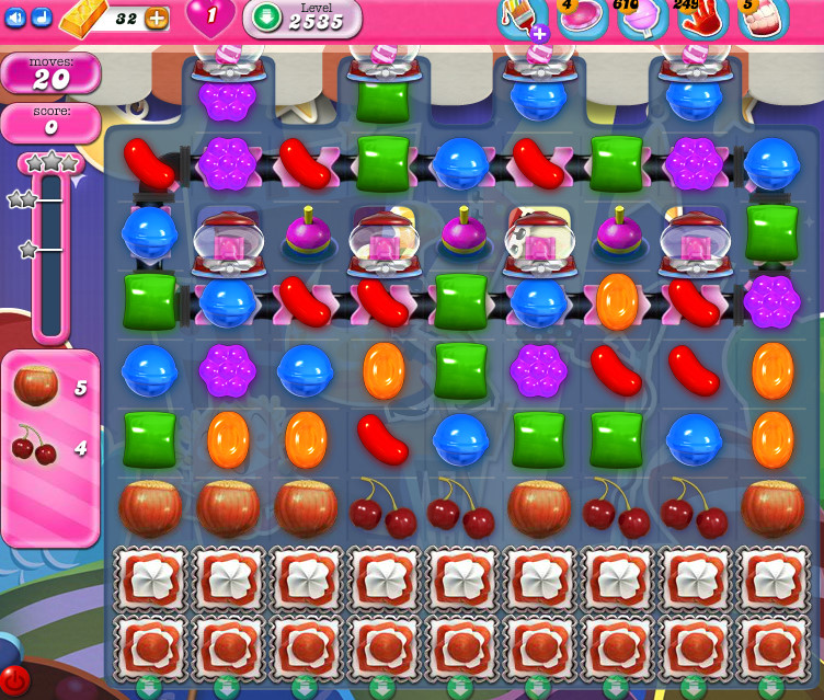 Candy Crush Saga level 2535