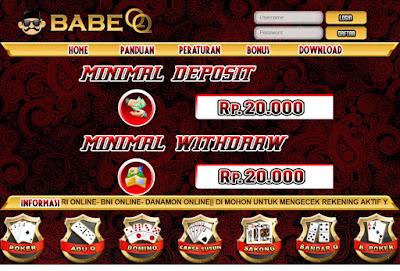Babeqq.com Situs bandarq, Situs Poker, Situs Dominoqq