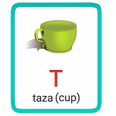 t- alphabet in spanish