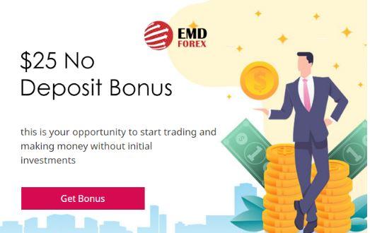 Bonus Forex Tanpa Deposit EMD $25