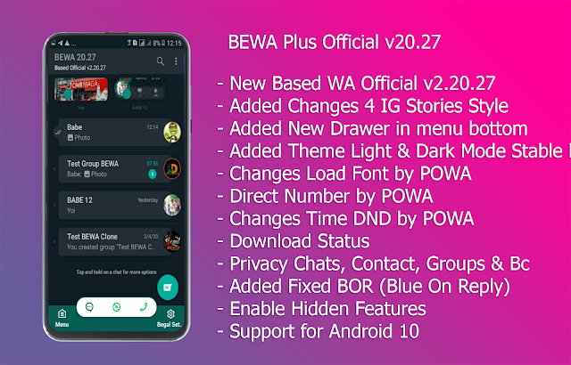BEGAL WA PLUS OFFICIAL v20.27