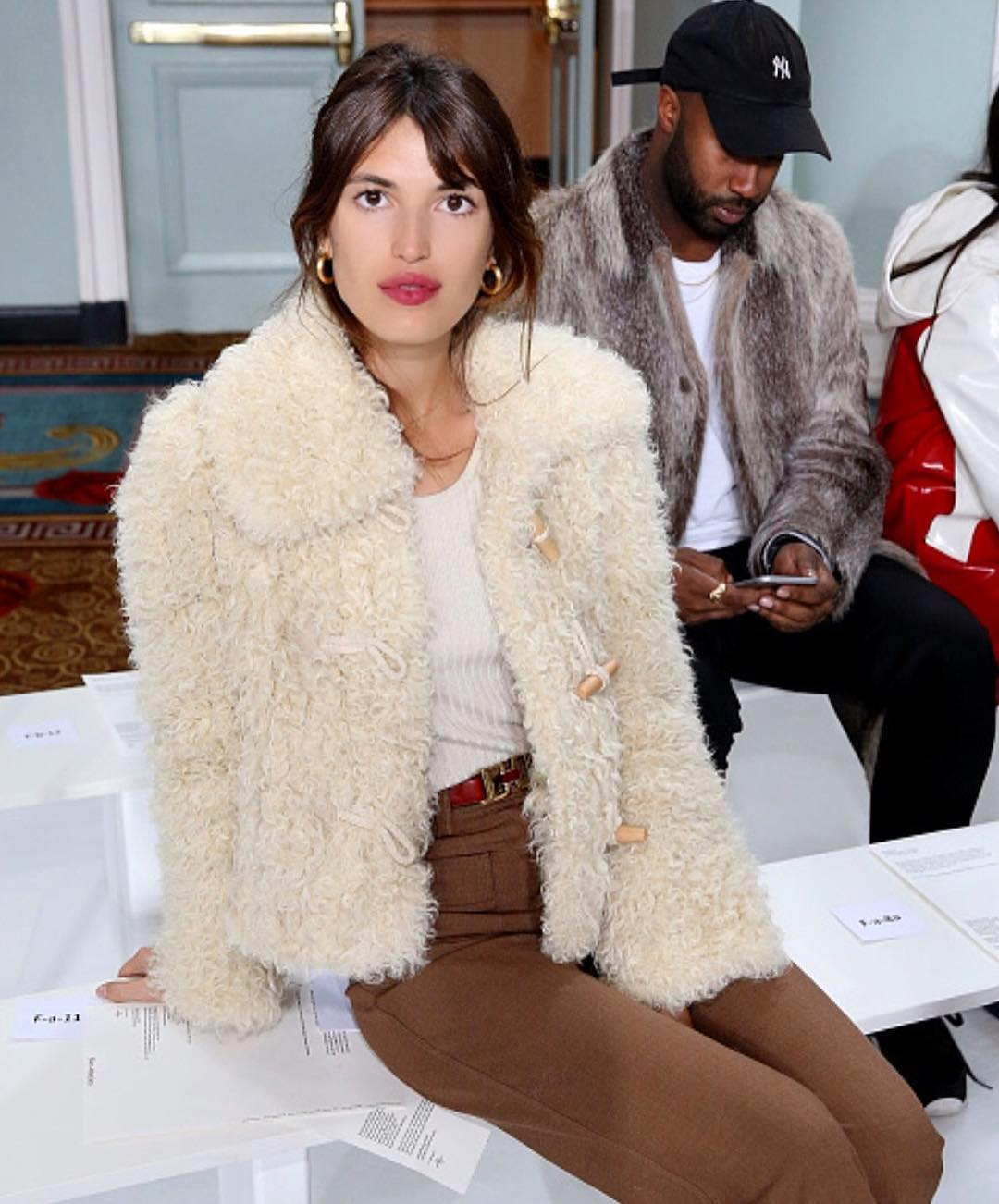 How to Wear a Shearling Jacket Like a French Girl — Jeanne Damas Style