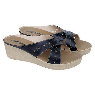 Sandal Wedges Wanita Catenzo JB 163