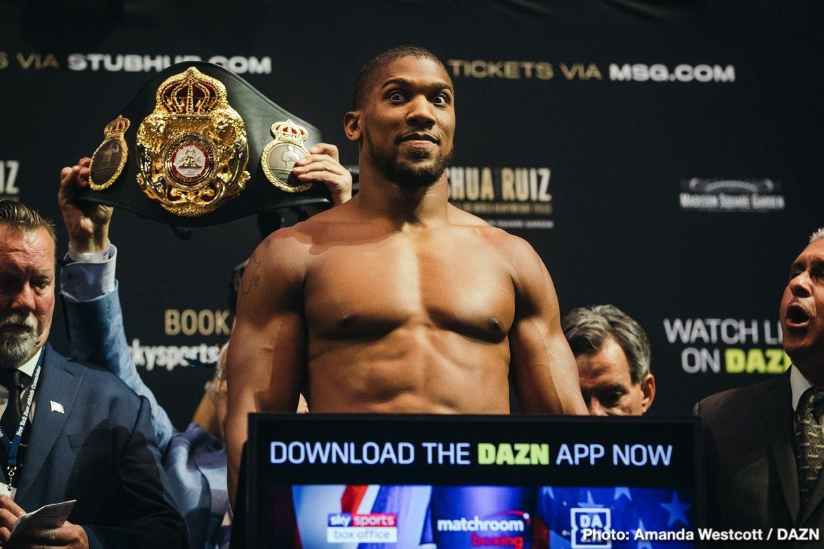 Boxing-Joshua vs Ruiz##⭕🔴Boxing-News⭕🔴Anthony Joshua vs Andy