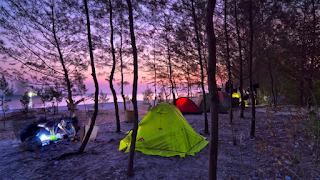 Camping Pulau Panjang Jepara