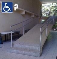 Funny Design Fail Pictures Disabled Ramp Stairs
