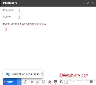 Cara mengirim email di Gmail yang benar