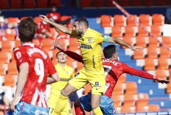 El Málaga suma una importante victoria ante el Lugo que le acerca a la permanencia (0-1)