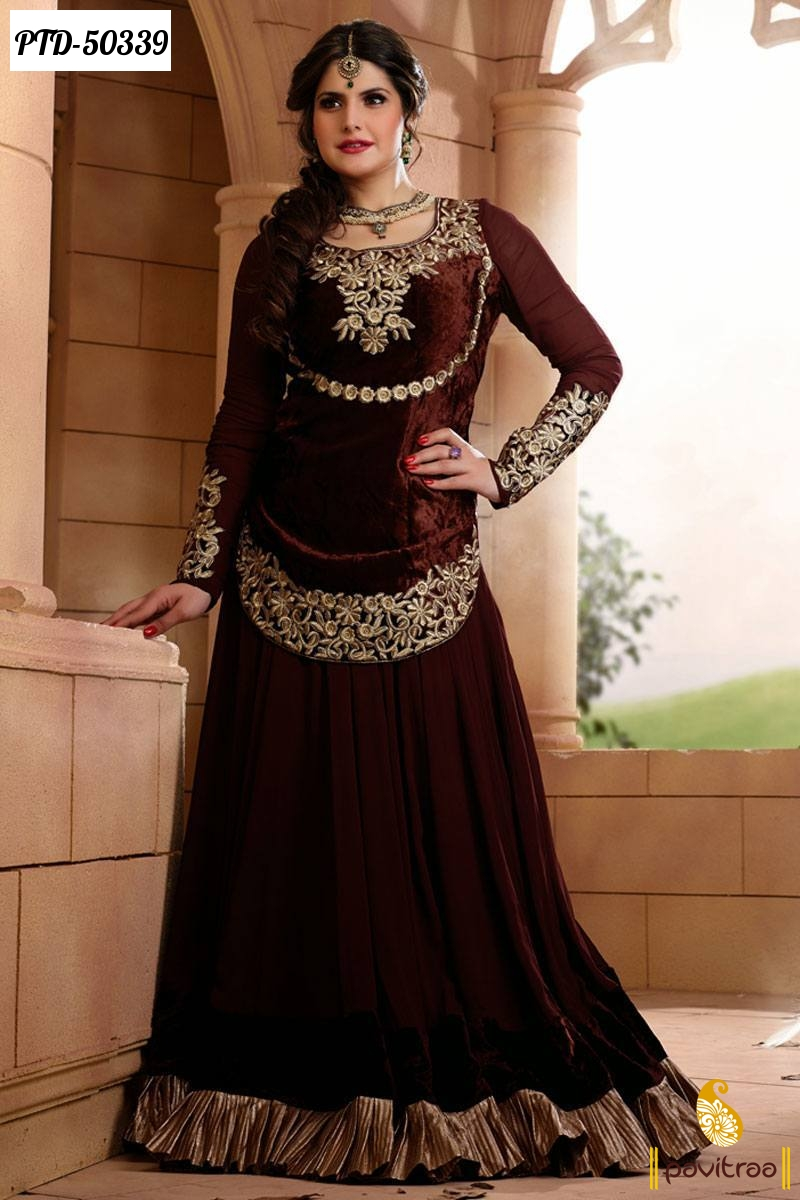 Bollywood Actresses Heroine New Year Party Wear Gown Style