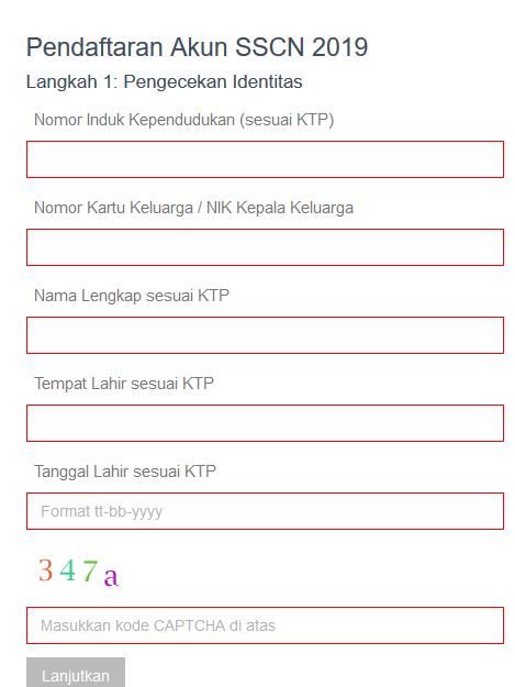 Cara Pendaftaran dan Berkas Pendukung Yang Perlu Diunggah Pada Pendaftaran Online CPNS 2019