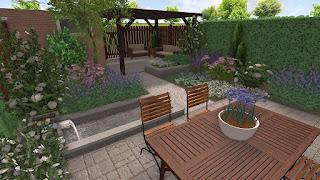 Tuinontwerp Kleine Tuin : Tuindesign tips en tuinideeën voor een kleine tuin met foto s