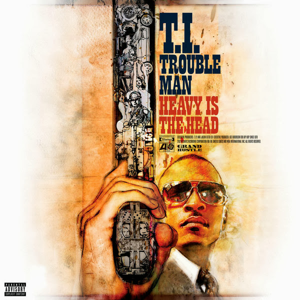 T.I. - Trouble Man: Heavy Is the Head (Mastered for iTunes) Cover