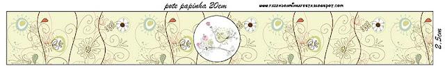 Etiquetas para Imprimir Gratis de Jardín Vintage.