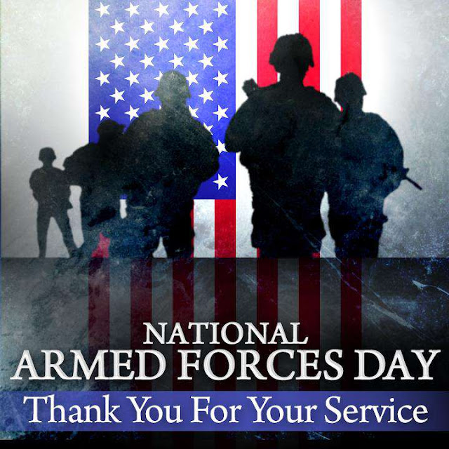 National Armed Forces Day Wishes Beautiful Image