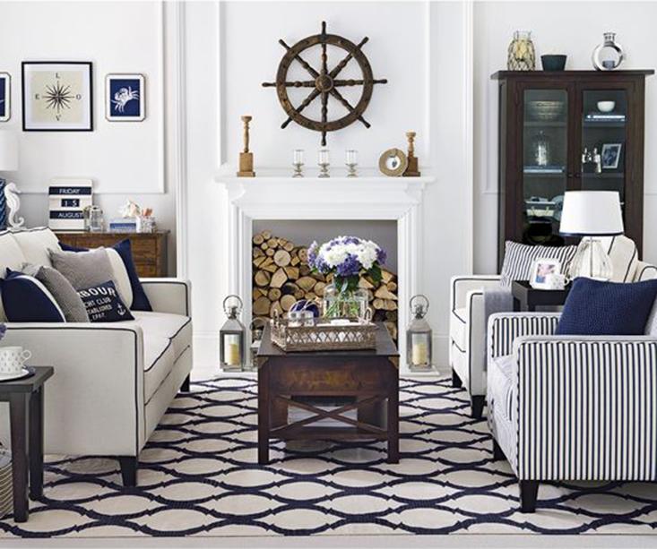 Ralph Lauren Hamptons Room: True Blue Hamptons Style