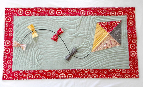 Quick Kite Table Runner - Free Pattern & Tutorial