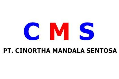 Lowongan Kerja PT. Cinortha Mandala Sentosa Pekanbaru Juli 2019