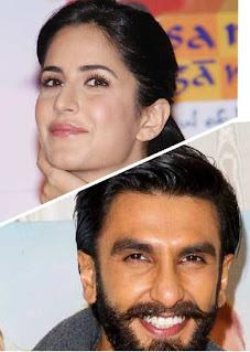 Katrina Kaif with Ranveer Singh