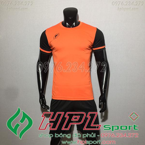 Áo ko logo Fagan DG màu cam